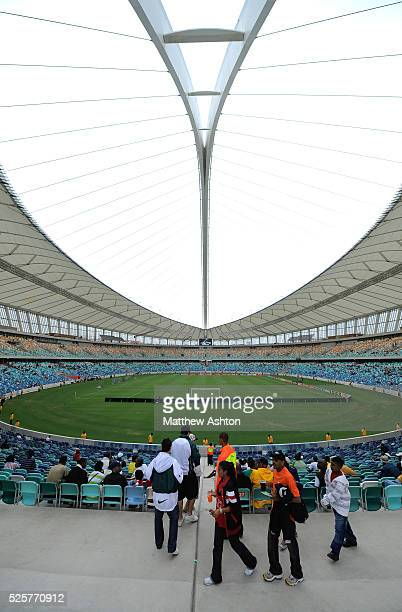 Moses Mabhida Stadium in Durban South Africa one of the host stadiums for the 2010 FIFA World Cup
