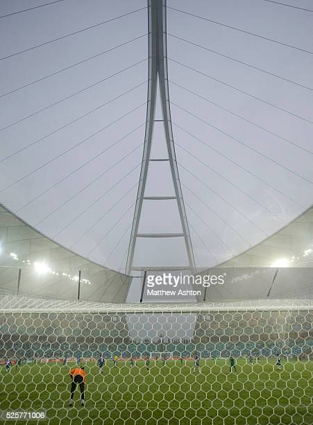 Moses Mabhida Stadium in Durban South Africa one of the venues of the FIFA 2010 South Africa World Cup