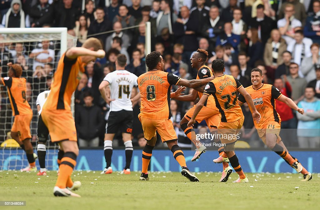 Derby County v Hull City - Sky Bet Championship Play Off: First Leg : Nyhetsfoto