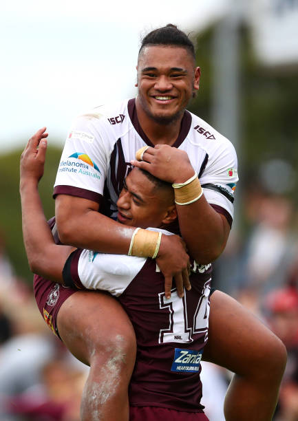 AUS: NRL Rd 14 - Sea Eagles v Dragons