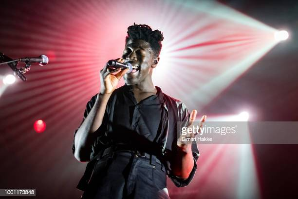 Moses Sumney performs on stage at North Sea Jazz Festival at Ahoy on July 15 2018 in Rotterdam Netherlands