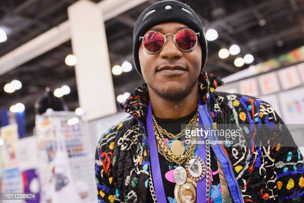 Moshow The Cat Rapper attends CatCon Worldwide 2018 at Pasadena Convention Center on August 4 2018 in Pasadena California