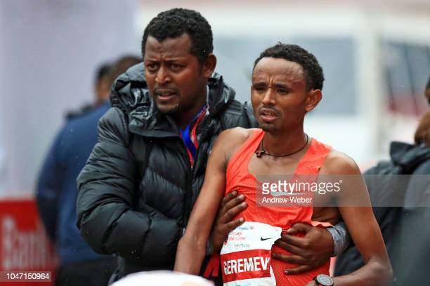Mosinet Geremew Bayih of Ethiopia finished second in 20524 during the 2018 Bank of America Chicago Marathon on October 7 2018 in Chicago Illinois