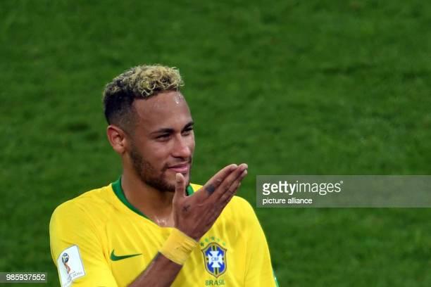 Fußball WM Serbien Brasilien Vorrunde Gruppe E 3 Spieltag im SpartakStadion Brazil's Neymar Photo Federico Gambarini/dpa