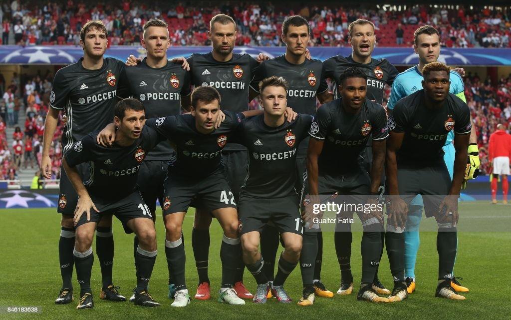 SL Benfica v CSKA Moskva - UEFA Champions League : News Photo