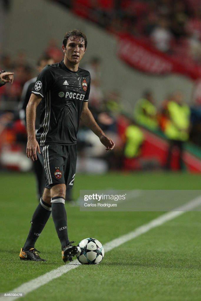 SL Benfica v CSKA Moskva - UEFA Champions League