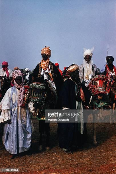Moslem Haussas At The Kaduna Durbar