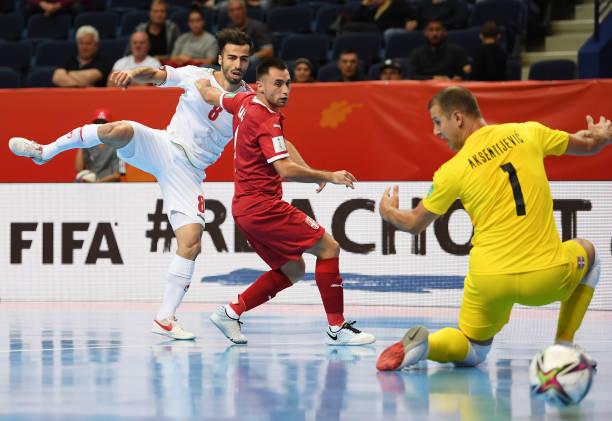 LTU: Serbia v IR Iran: Group F - FIFA Futsal World Cup 2021