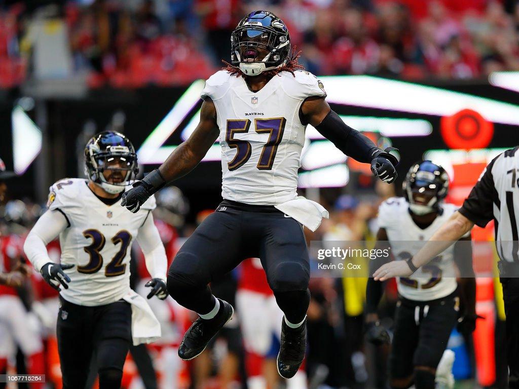 Baltimore Ravens v Atlanta Falcons : News Photo