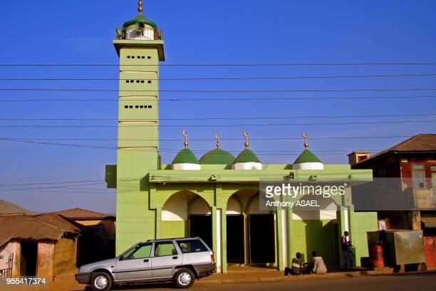 Mosquée, Abuja, Nigéria.