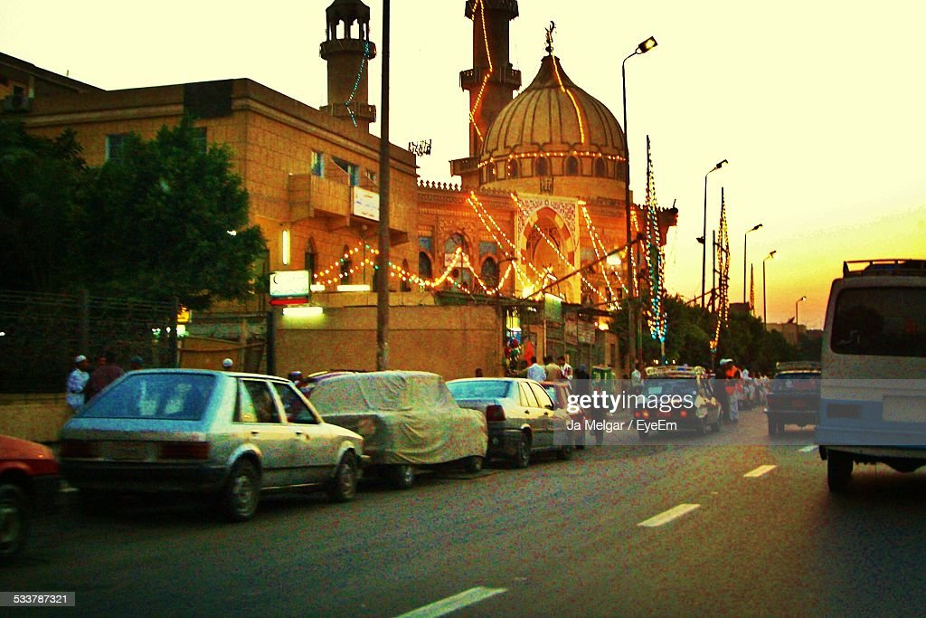 Mosque At Sunset : Foto stock