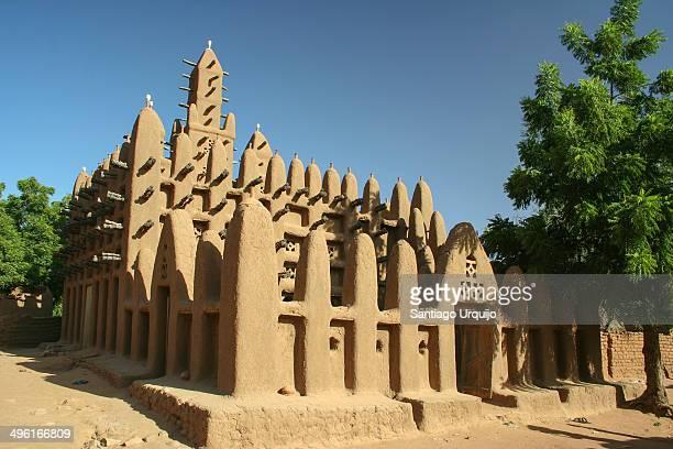 Mosque at the Dogon village of Kani-Kombole