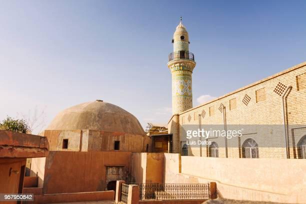 mosque at the erbil citadel - クルディスタン ストックフォトと画像