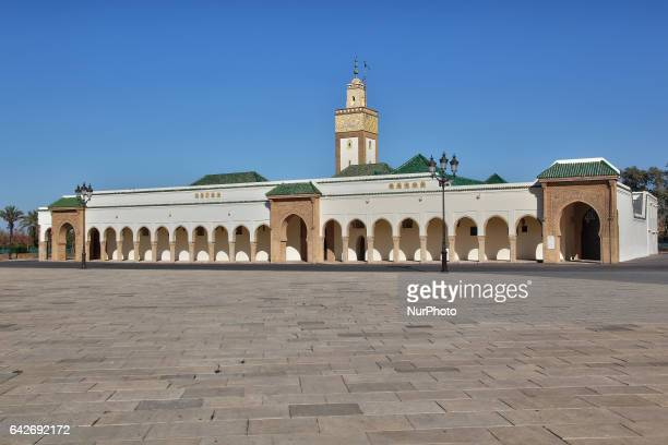 Mosque at the royal palace complex in the town of Rabat Morocco Africa