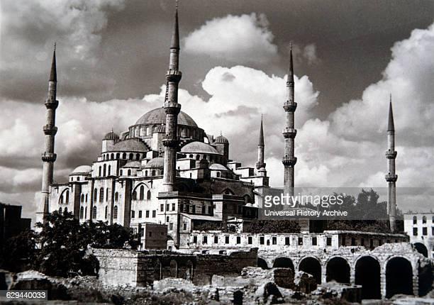 Mosque, Hagia Sophia, Istanbul, Turkey.