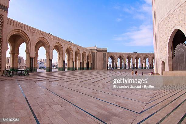 Mosque Hassan Ii Against Sky