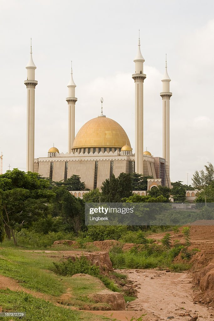 Mosque in Abuja : Stock Photo