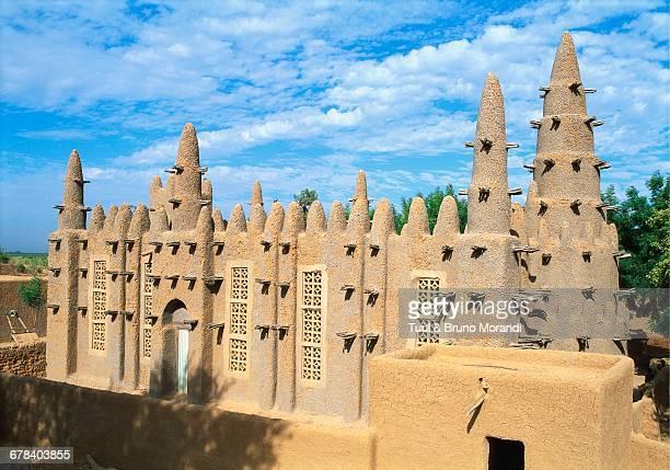 Mosque in Bozo, Mopti, Mali, Africa