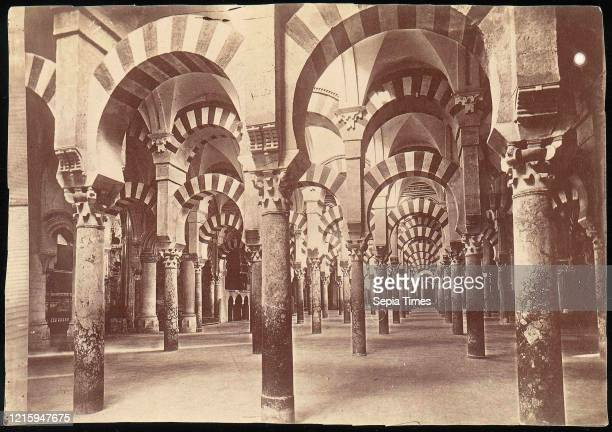 Mosque in Cordova, 1880s-90s, Albumen silver print from glass negative, Photographs, Unknown.