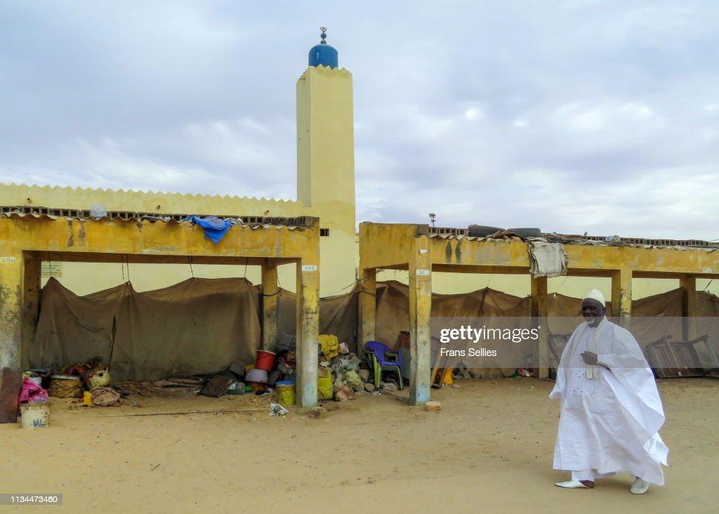 Mosque in Saint-Louis, Senegal : ストックフォト
