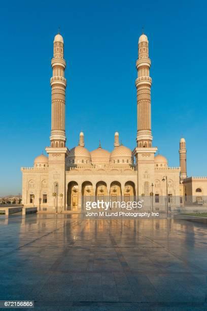 Mosque in Sanaa, Yemen,