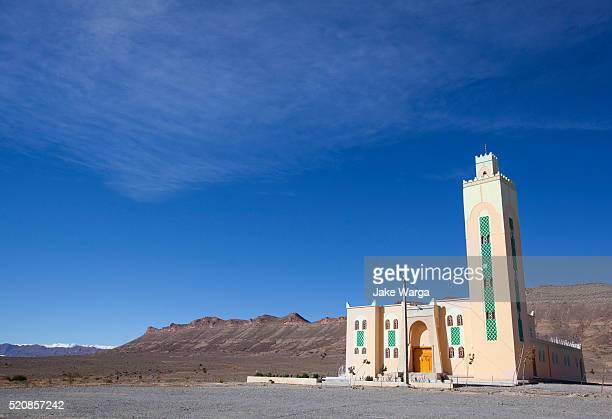 mosque in the high atlas mountains, morocco - jake warga fotografías e imágenes de stock