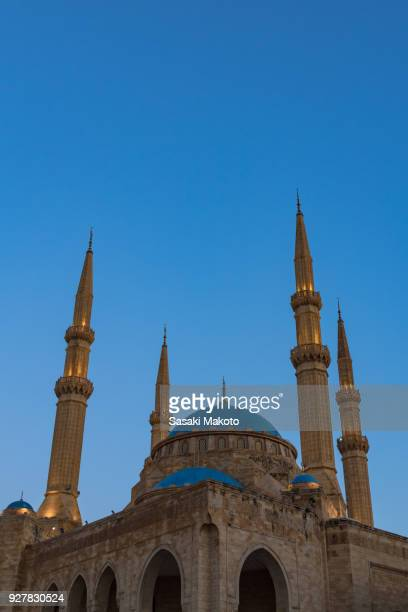 Mosque in twilight
