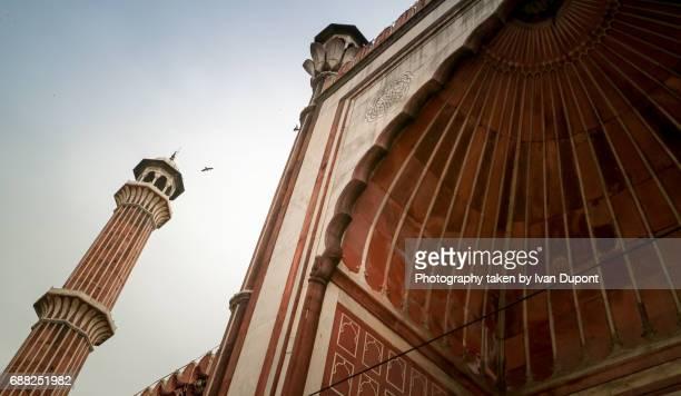 Mosquée Jama Masjid de New Delhi