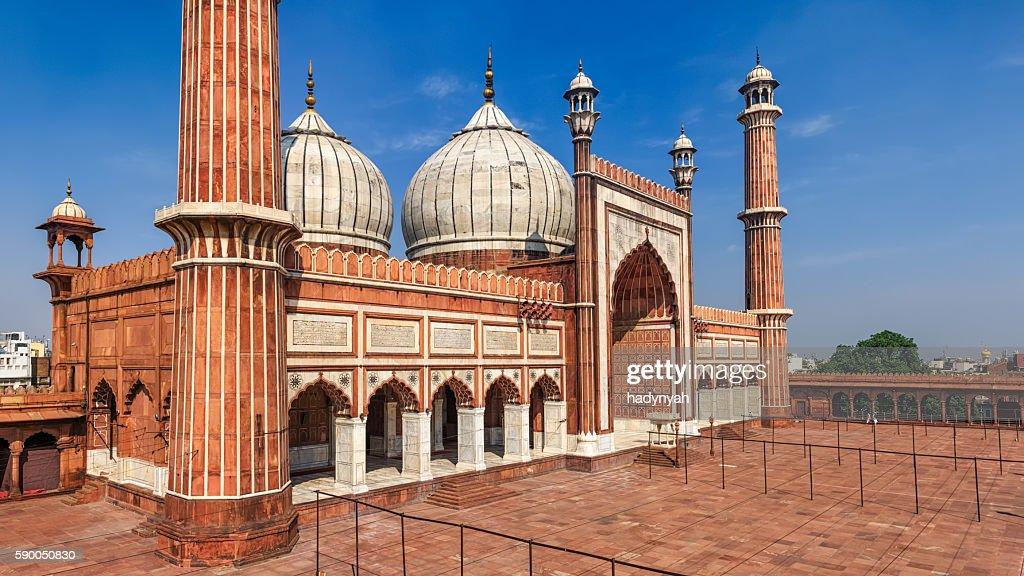 Mosque Jama Masjid, Delhi, India : Stock Photo
