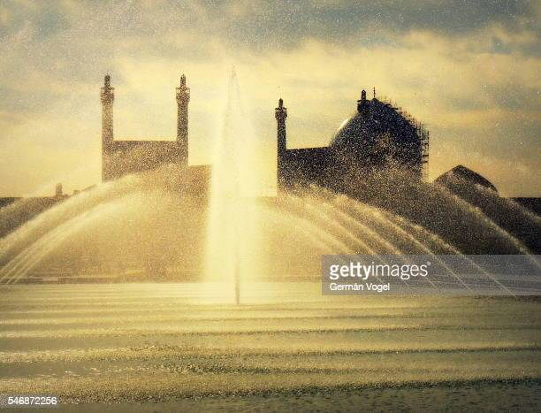 Mosque made of water drops - Imam mosque of Isfahan