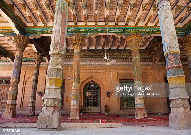 Mosque of Abakh Hojam tomb, Kashgar, Xinjiang Uyghur Autonomous Region, China on September 23, 2012 in Kashgar, China.
