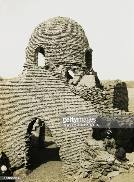 Mosque of alMashhad alBahari near Aswan Egypt photograph by Ugo Monneret de Villard 19291934