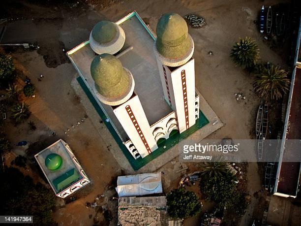 mosque of divinity - dakar photos et images de collection