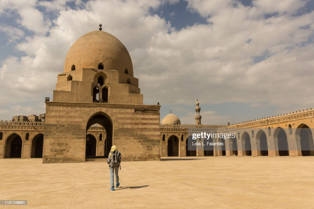 Mosque of Ibn Tulun : Foto de stock