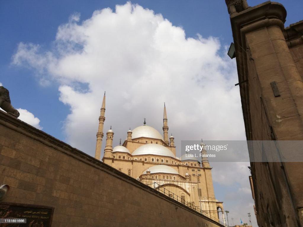Mosque of Muhammad Ali in Cairo Citadel : Foto de stock