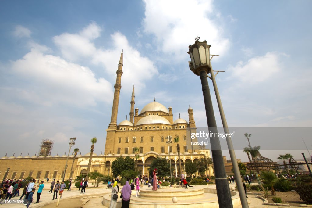 Mosque Of Muhammad Ali In Cairo High Res Stock Photo Getty