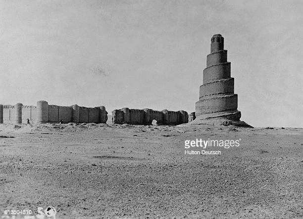 Mosque Of Samarra Exterior Mesopotamia