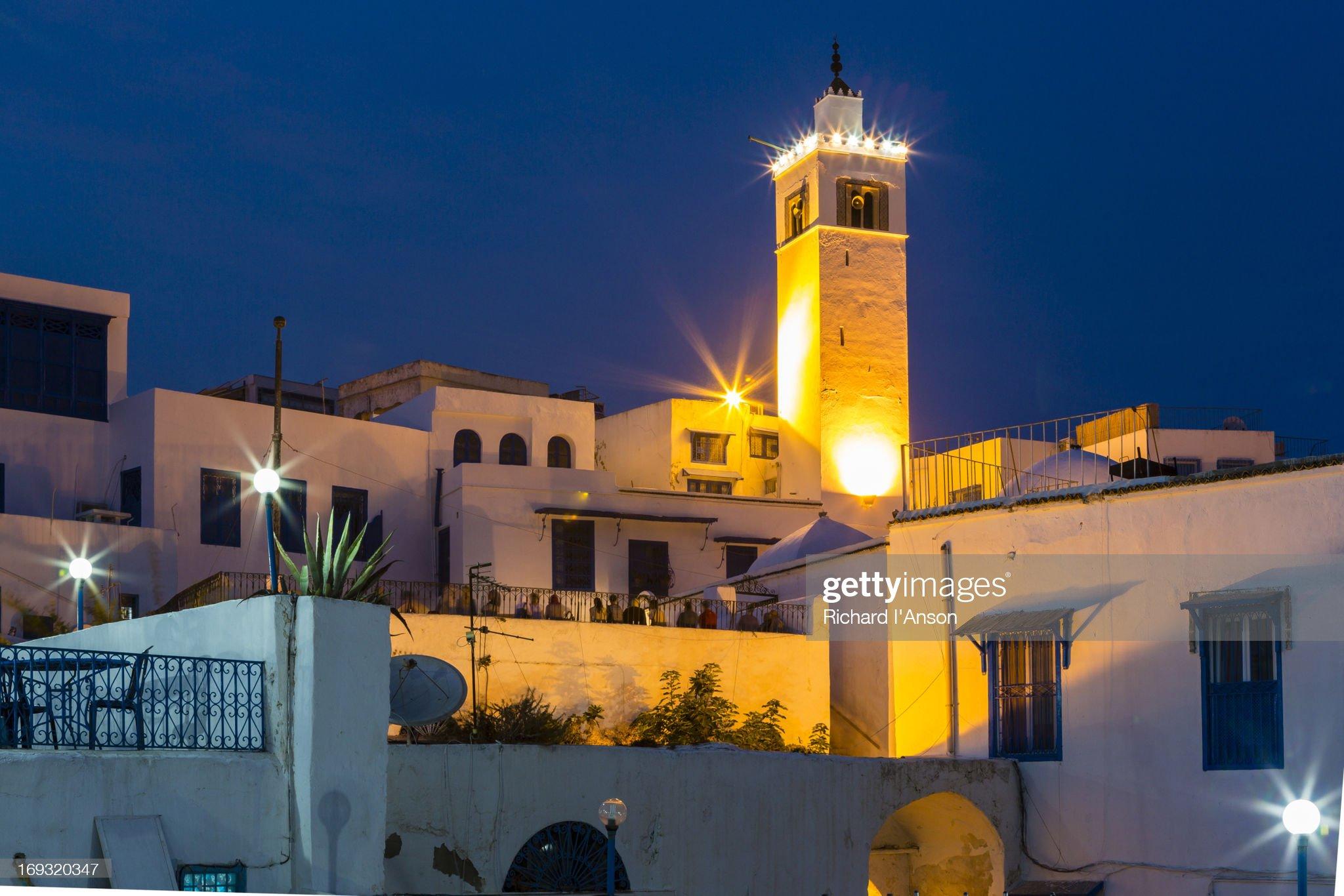 Mosque of Sidi Bou Said : Foto stock