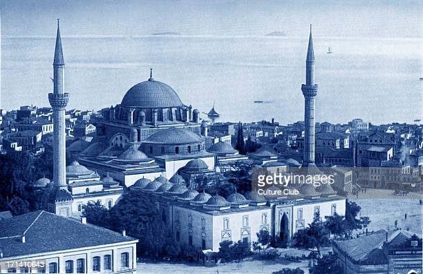 Mosque of Sultan Bajesid II in Constantinople Photograph taken in early 1900'sReign 14811512