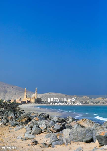 Mosque on the seaside Musandam Governorate Khasab Oman on May 19 2018 in Khasab Oman