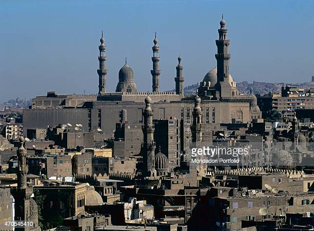 'MosqueMadrasa of Sultan Hassan and Mosque of alRifa'i by Mamluk craftsmen 13561362 and 18691912 14th and 19th20th Century sandstone Egypt Cairo...
