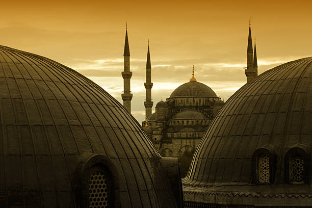 Mosques in Sultanahmet, Istanbul, Turkey