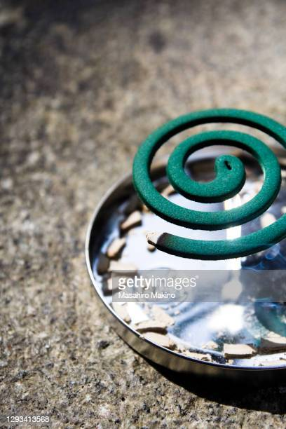 mosquito coil - incense coils stock pictures, royalty-free photos & images