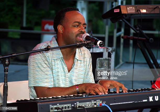 J Moss during 2005 Praise in the Park Gospel Fest Presented by LAS Productions VSL Entertainment at Six Flags New England in Agawan Massachusetts...