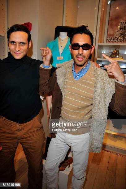 Moss Lipow and Christian Cota attend Ann Taylor Flatiron Store Opening at Ann Taylor NYC on December 2 2010 in New York City