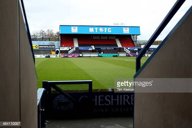 Moss Rose Ground during the The FA Cup with Budweiser Second Round match between Macclesfield Town and Brackley Town at The Moss Rose Ground on...