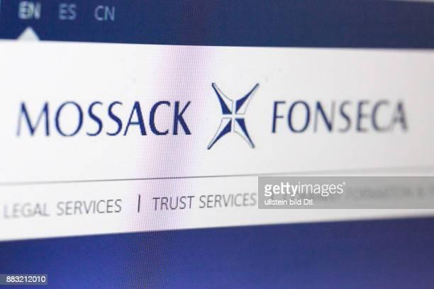 Mossack Fonseca Internetseite