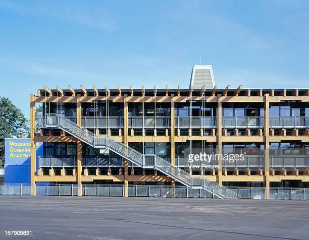 Mossbourne Community Centre Academy School London United Kingdom Architect Richard Rogers Partnership Mossbourne Community Centre East Wing Showing...
