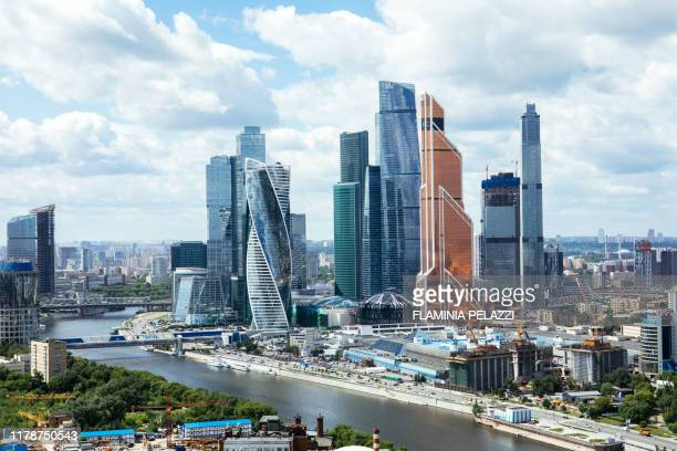 mosscú, moscow - moscow skyline stock pictures, royalty-free photos & images