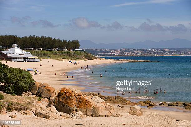mossel bay beach. - mossel bay stock pictures, royalty-free photos & images